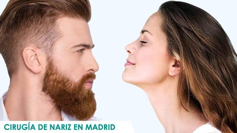 Cirugía de nariz en Madrid para hombres y mujeres