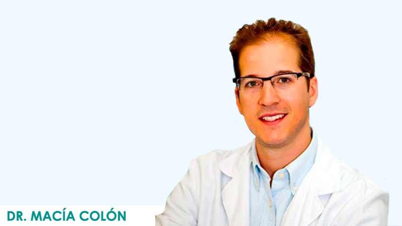Cirujano blefaroplastia en Madrid, Doctor Macía Colón