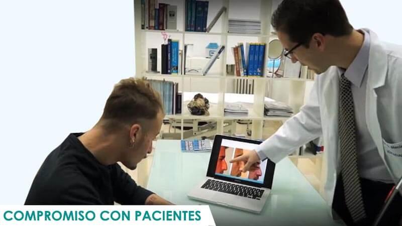 Compromiso con pacientes de Icifacial