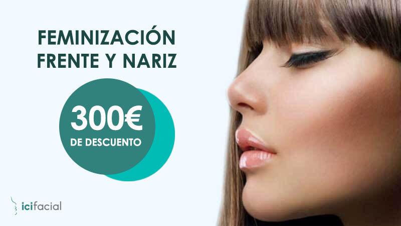 Promoción de feminización facial para pacientes transexuales