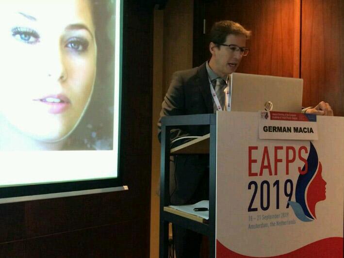Doctor Macia en el meeting anual de la EAFPS 2019