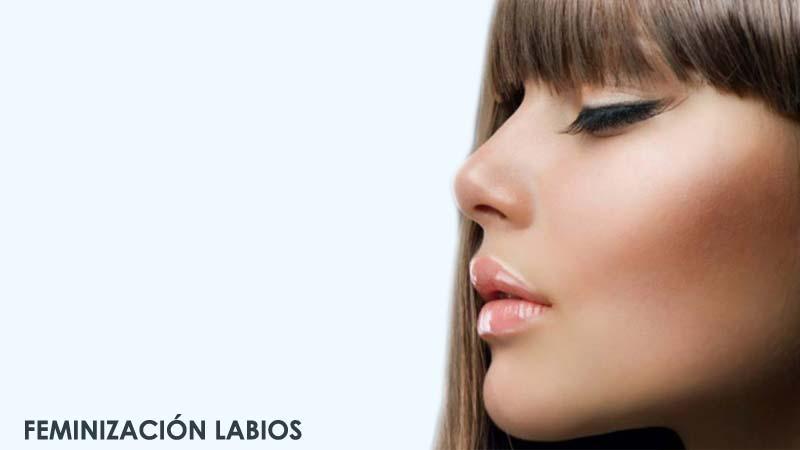 Cirugía de feminización mediante lifting o elevación de labio superior