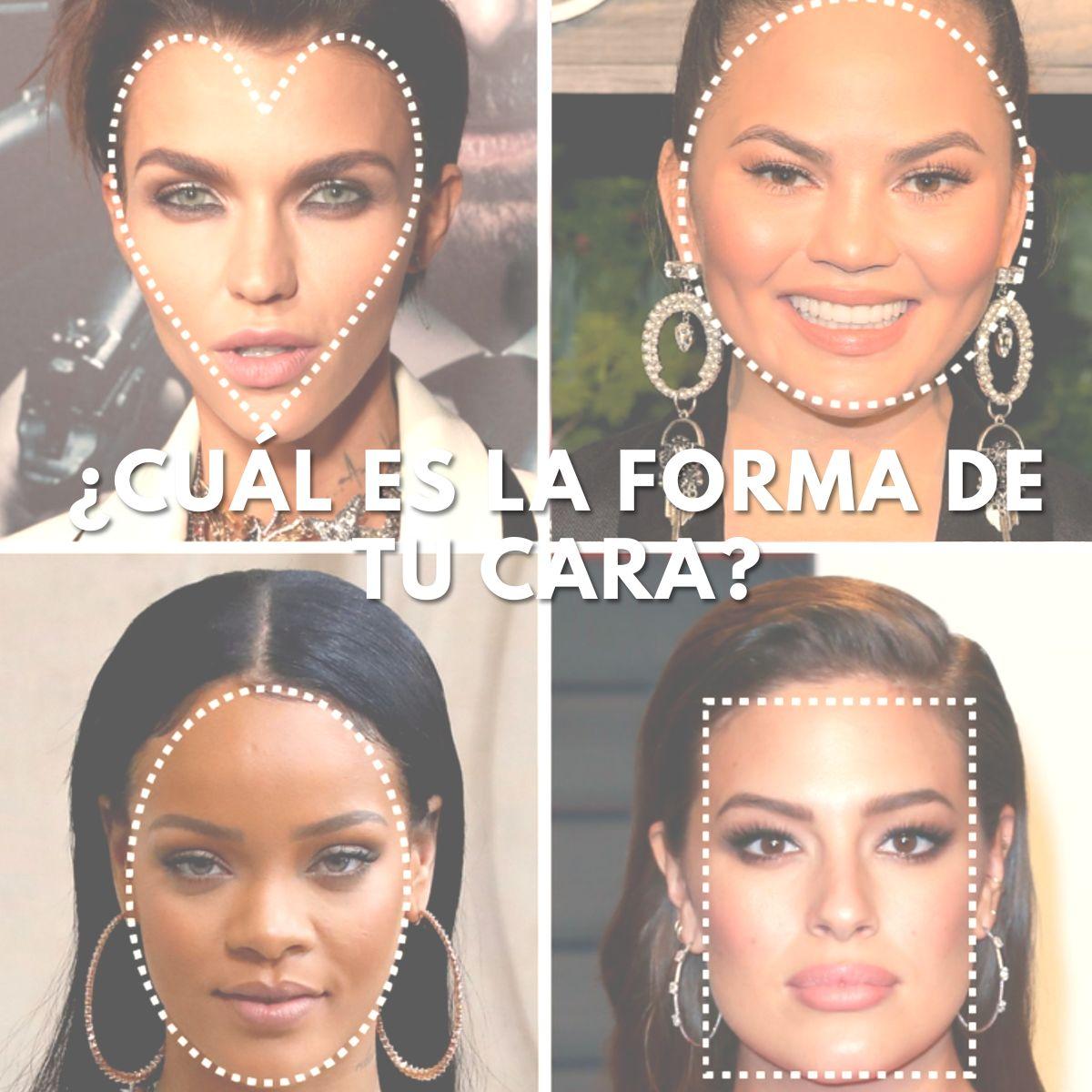 Formas de caras mujer