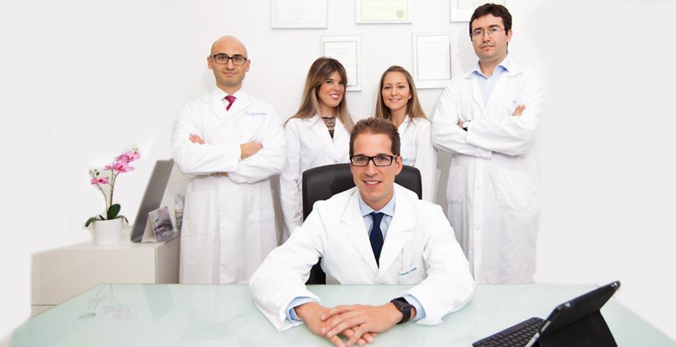 Equipo de cirugía estética facial en Madrid