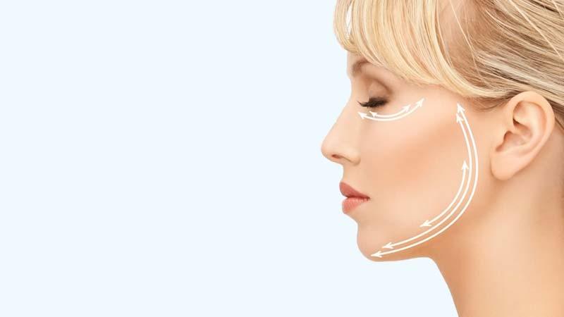Lifting facial para rejuvenecimiento del rostro
