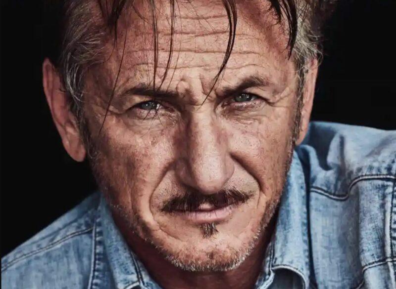 Nariz del actor Sean Penn