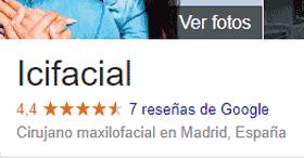 Opiniones sobre el Dr Macía en Google