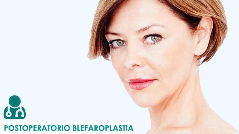 Postoperatorio de bleflaroplastia