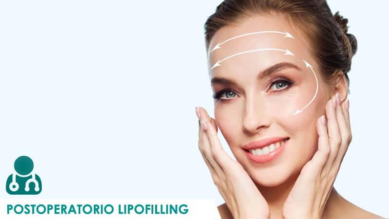 Recomendaciones para el postoperatorio del lipofilling facial por Dr. Macía