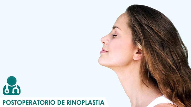 Consejos del postoperatorio de rinoplastia