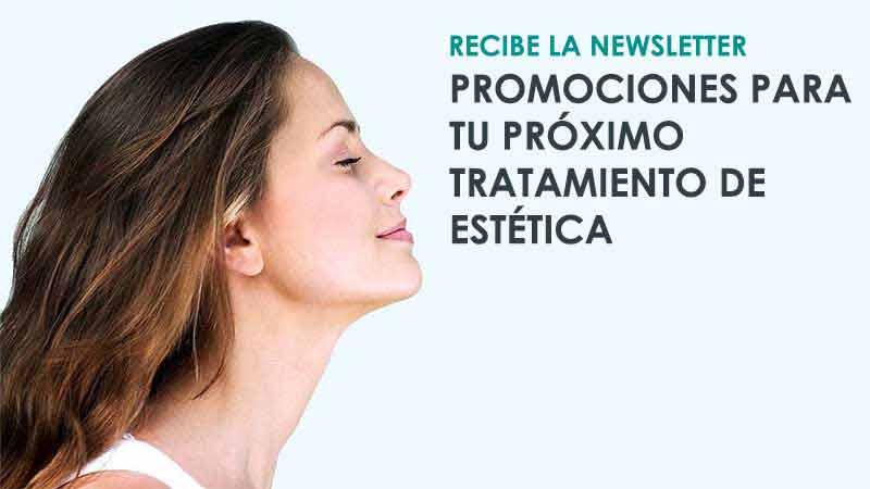 Promociones de estética facial al registrarse en la newsletter de Icifacial