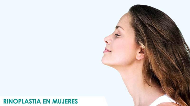 Fotos de rinoplastia en mujeres operadas en Madrid con Icifacial